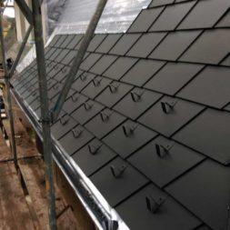 dach mit prefa alublech eindecken 55 - Der PREFA Stier kommt auf das Dach