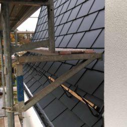 dach mit prefa alublech eindecken 63 - Der PREFA Stier kommt auf das Dach