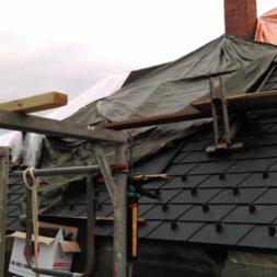 dach mit prefa alublech eindecken 70 - Der PREFA Stier kommt auf das Dach