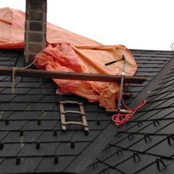 dach mit prefa alublech eindecken 71 - Der PREFA Stier kommt auf das Dach