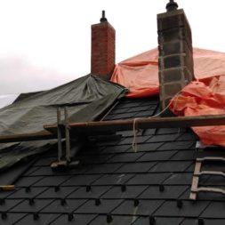 dach mit prefa alublech eindecken 72 - Der PREFA Stier kommt auf das Dach