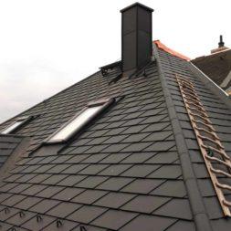 dach mit prefa alublech eindecken 75 - Der PREFA Stier kommt auf das Dach
