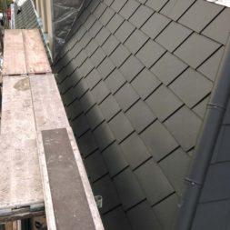 dach mit prefa alublech eindecken 84 - Der PREFA Stier kommt auf das Dach