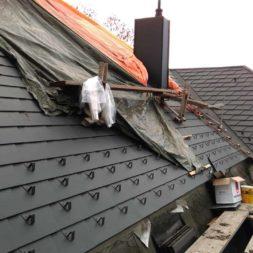 dach mit prefa alublech eindecken 86 - Der PREFA Stier kommt auf das Dach