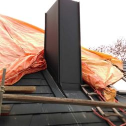 dach mit prefa alublech eindecken 87 - Der PREFA Stier kommt auf das Dach