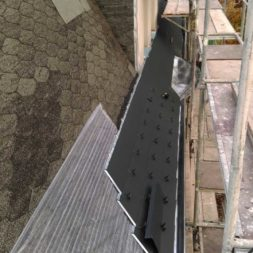dach mit prefa alublech eindecken 88 - Der PREFA Stier kommt auf das Dach