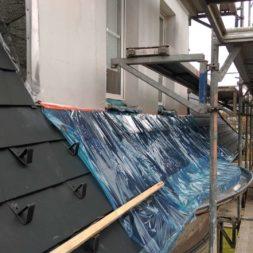 dach mit prefa alublech eindecken 90 - Der PREFA Stier kommt auf das Dach