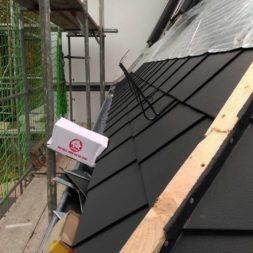 dach mit prefa alublech eindecken 92 - Der PREFA Stier kommt auf das Dach