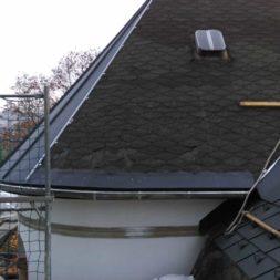 dach mit prefa alublech eindecken 97 - Der PREFA Stier kommt auf das Dach