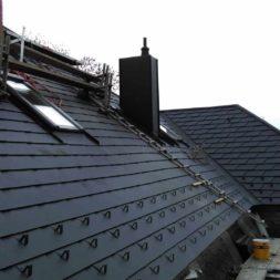 dach mit prefa alublech eindecken 99 - Der PREFA Stier kommt auf das Dach