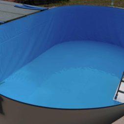 pool aufbau und anschluss 10 - Projekt Poolbau – Der Aufbau des Stahlwandpools