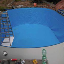 pool aufbau und anschluss 7 - Projekt Poolbau – Der Aufbau des Stahlwandpools