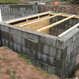 pool schacht und mauerarbeiten 56 - Projekt Poolbau – Das Technikhaus