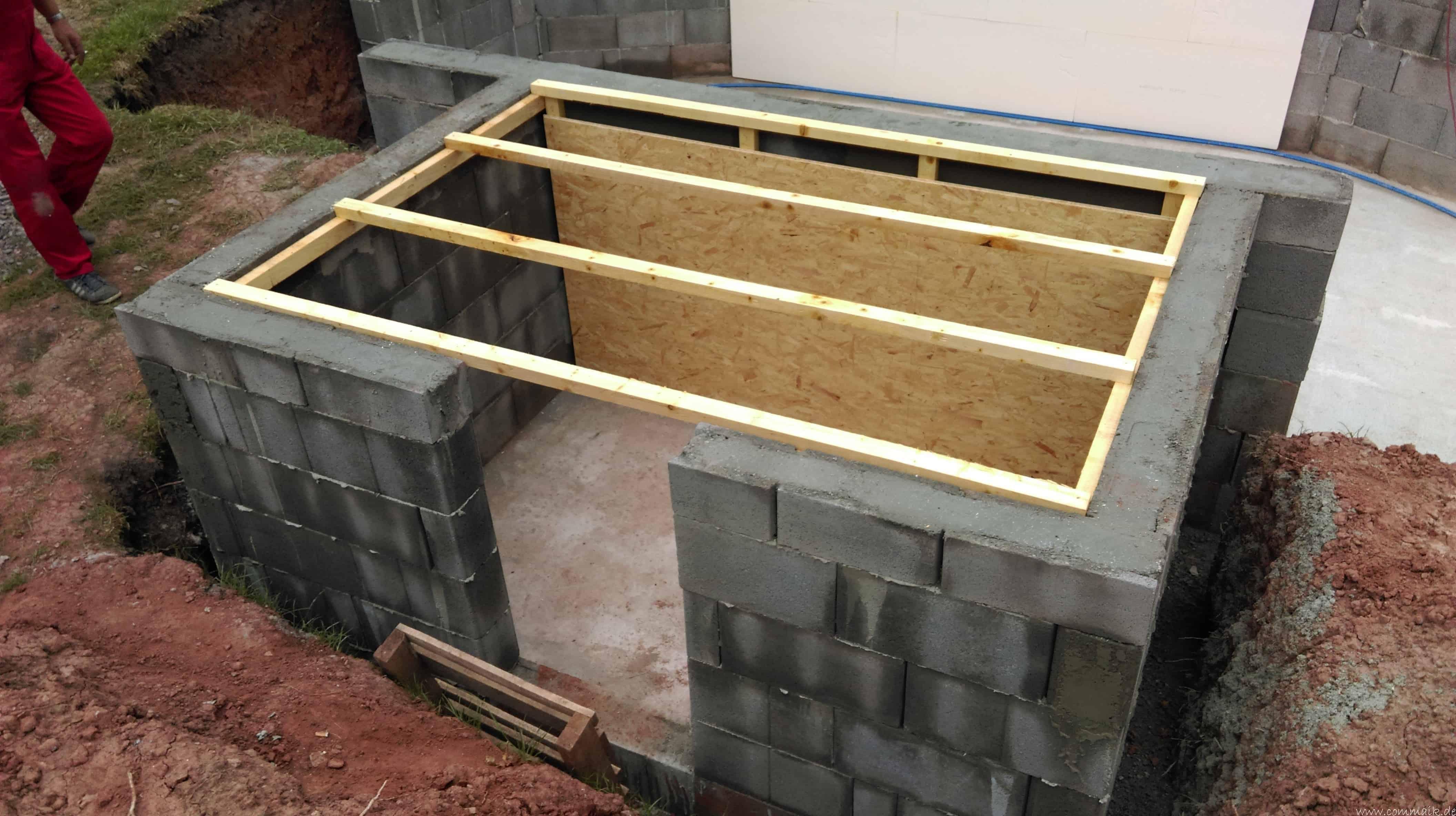 projekt poolbau das technikhaus commaik. Black Bedroom Furniture Sets. Home Design Ideas