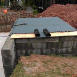 pool schacht und mauerarbeiten 60 - Projekt Poolbau – Das Technikhaus