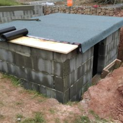 pool schacht und mauerarbeiten 61 - Projekt Poolbau – Das Technikhaus