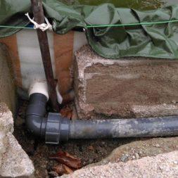 abgrenzung der bpc wpc dielen poolterrasse 2 - Projekt Poolterrasse – Vorbereitung und Start