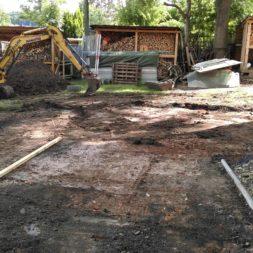 pool aufbau und anschluss 32 - Projekt Poolterrasse – Vorbereitung und Start