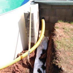 pool aufbau und anschluss 42 - Projekt Poolbau – Bau und Anschluss der Solarheizung