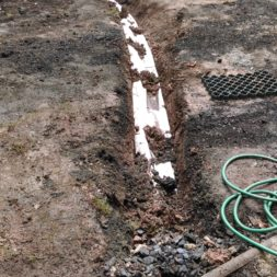 pool aufbau und anschluss 48 - Projekt Poolterrasse – Vorbereitung und Start
