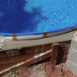 pool aufbau und anschluss 57 - Projekt Poolterrasse – Vorbereitung und Start
