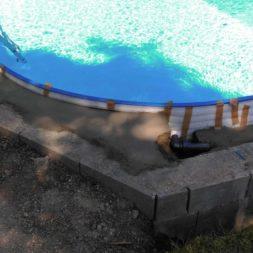pool aufbau und anschluss 58 - Projekt Poolterrasse – Vorbereitung und Start