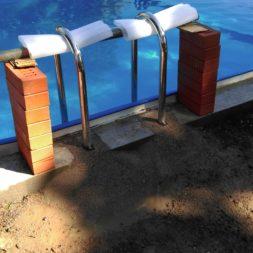 pool aufbau und anschluss 66 - Projekt Poolterrasse – Vorbereitung und Start