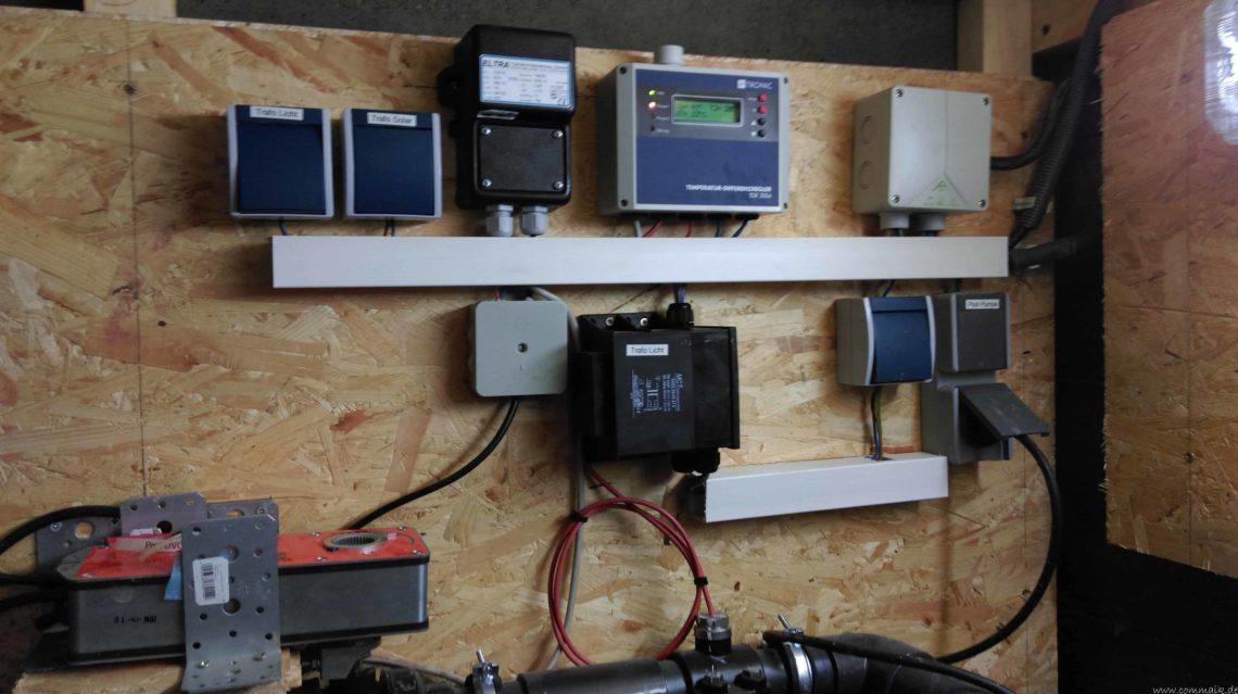 pool installationen 16 - Projekt Poolbau - Elektroinstallation