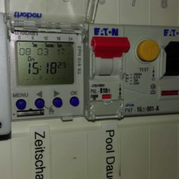 pool installationen 19 - Projekt Poolbau - Elektroinstallation