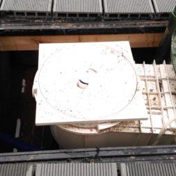 einbau der bpc wpc dielen poolterrasse 23 1 - Projekt Poolterrasse –  Bau der Unterkonstruktion und Verlegen der BPC Dielen