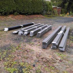 einbau der bpc wpc dielen poolterrasse 3 - Projekt Poolterrasse – Bau der freistehenden Unterkonstruktion für die BPC Dielen
