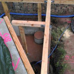 unterkonstruktion bpc wpc poolterrasse 15 - Projekt Poolterrasse – Bau der freistehenden Unterkonstruktion für die BPC Dielen