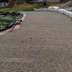 unterkonstruktion bpc wpc poolterrasse 38 - Projekt Poolterrasse –  Bau der Unterkonstruktion und Verlegen der BPC Dielen