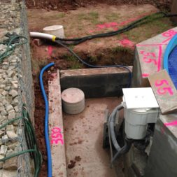 unterkonstruktion bpc wpc poolterrasse 4 - Projekt Poolterrasse – Bau der freistehenden Unterkonstruktion für die BPC Dielen