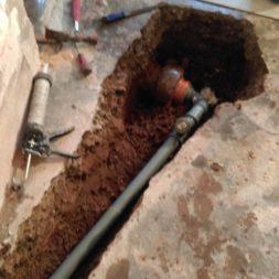 ht rohr in tonrohr einbinden abfluss 9 - Ein neuer HT-Abfluss wird in das alte Tonrohr eingebunden
