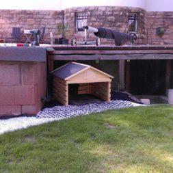 Rasenroboter bekommt ein Haus 1 - Automatisierung im Garten – Einbau und Nutzung des Rasenroboters Gardena Sileno+