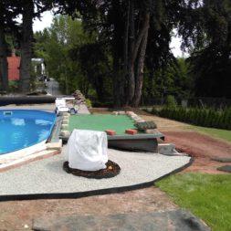 winterharte palmen an den pool pflanzen 13 - Palmen für den Pool - Urlaubsstimmung im eigenen Garten