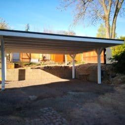 IMG 20190418 084729 - Neuer Carport mit Photovoltaik auf dem Dach