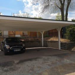 IMG 20190427 143024 - Neuer Carport mit Photovoltaik auf dem Dach