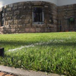 Hunter Rasenbewaesserung winterfest machen Druckluft ist die Loesung 3 - Unterirdische Rasenbewässerungsanlage Einwintern und frostsicher machen