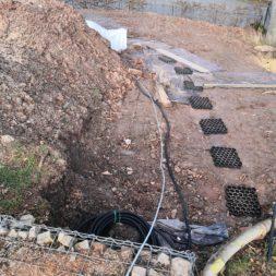 IMG 20200215 145633 - Hang mit Gabionen sichern - Ecken und Kurven bauen   Körbe ausrichten
