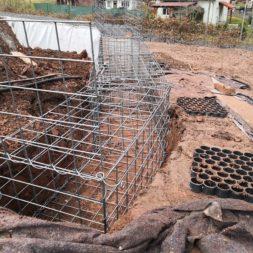 IMG 20200219 164951 - Hang mit Gabionen sichern - Ecken und Kurven bauen   Körbe ausrichten