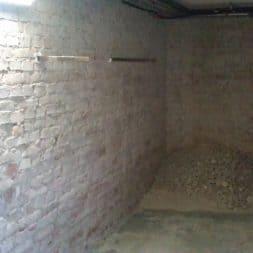 buero im keller bauen14 - Granit | Stein Waschbecken mit Armatur einbauen in der Teeküche