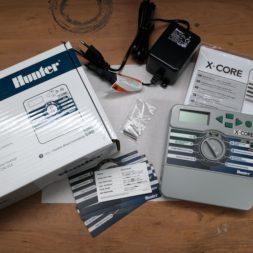Installation und Programmierung Hunter X Core Bewaesserungscomputer - Rasenbewässerung planen und installieren #1 – Optimale Regnerplatzierung