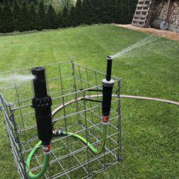 Rasenbewaesserun Hunter MP Rotator vs RainBird R VAN2 - Rasenbewässerung planen und installieren #1 – Optimale Regnerplatzierung