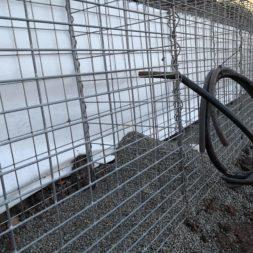 IMG 20191123 125641 - Hang mit Gabionen sichern - Vlies Wasser Leerrohre