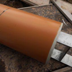 Carport bauen Fundamente mit KG setzen15 - Carport selber bauen - Pfostenanker setzen