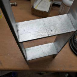 Carport bauen Fundamente mit KG setzen33 - Carport selber bauen - Pfostenanker setzen