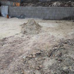 Carport bauen Fundamente mit KG setzen39 - Carport selber bauen - Pfostenanker setzen