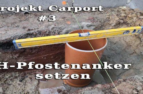 maxresdefault - Carport selber bauen - Pfostenanker setzen